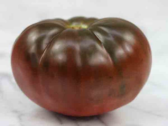 Heirloom Tomato Seeds - 'Brandywine Black' - Organic ! Great for Sandwiches, salads,grilling and more !