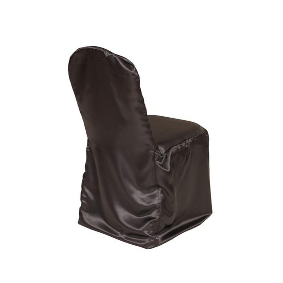 Satin Banquet Chair Cover Black Wedding Chair Covers