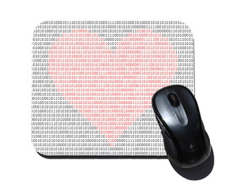 Binary Heart  Mouse Pad - Geek Love Gift - Valentine's Day Gift - Gift for Programmer -  Computer Mousepad - Geek Mouse Pad - Geek Gift