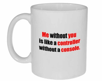 Valentine's Day Gift  Mug Controller without a Console  Gamer gift