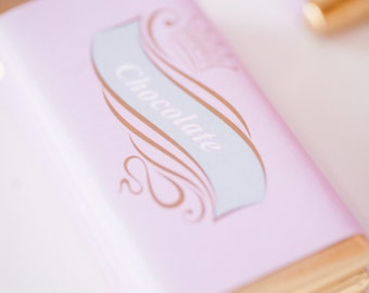 Princess Themed Chocolate Bar Wrappers / Princess Party / Crown