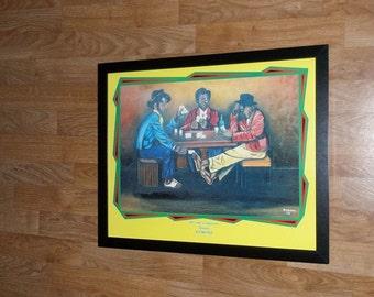 Tamara Ramong prints - Art with a Difference poster - 20''x16'' poker wall art
