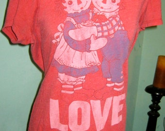 Vintage adorable reggedy ann & andy T-shirt
