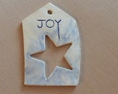 Joy - Christmas Ornament