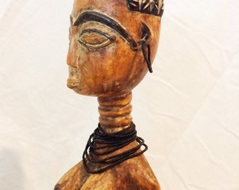 Holiday Gift Vintage Anyi Sculpture African Art
