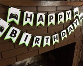 Xbox video game Happy Birthday Banner