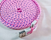 Iphone 6 / 6+ / 5 / 5s / 5c, Lightning Cable Usb Charger, 100% guaranteed, FREE SHIPPING, braided-nylon charger cord, super durable charger