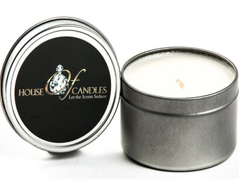 Premium Scented Soy Candle - Tin 20hr Burn