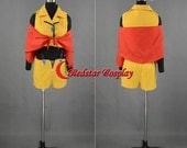 Cowboy Bebop Faye Valentine Cosplay Costume - Custom-made in Any size