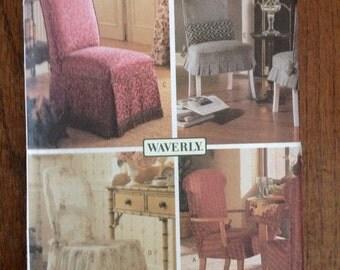 Butterick Waverly decor Original Design Chair Cover Pattern
