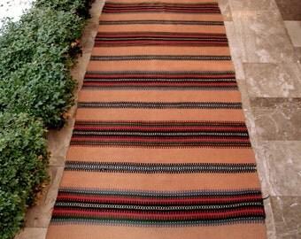 Holiday Sale 25 Vintage Kilim Rug Runner Area Carpet