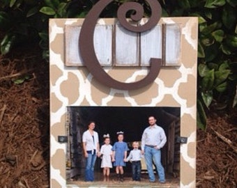 Initial Picture Frame