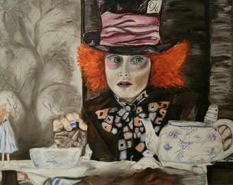 portrait of the Mad Hatter