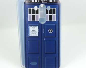 Tardis inspired case for LG G3/G2 - Doctor Who - Time And Relative Dimension In Space