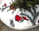 Christmas Tree Skirt Christmas Decor Holiday Decor Scandinavian Christmas Gift Christmas Ornament Gnome Nisse Swedish Christmas Nordic