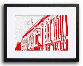 ARSENAL Print -  Highbury Stadium