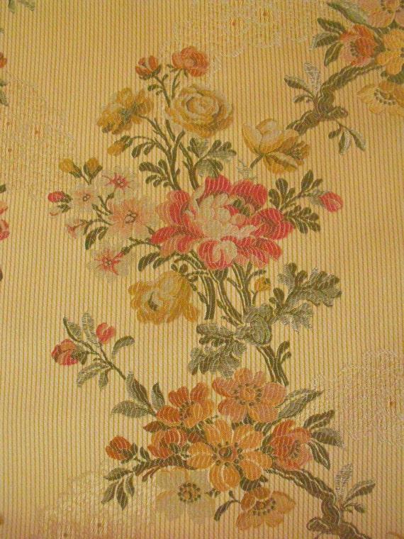 Yards kravet italy sorresina lemon floral embroidery