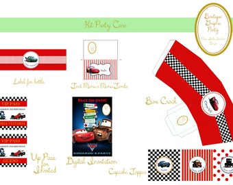 Cars Disney Kit Party- download