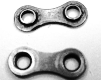 Recycled Bicycle Chain Link Single Inside Plate (pack of 50)