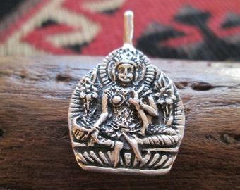 Sterling Goddess Pendant