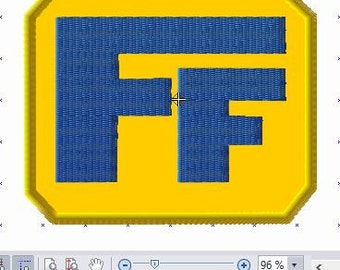 Fix it Felix Hat  Patch Embroidery File Size 3.5inches