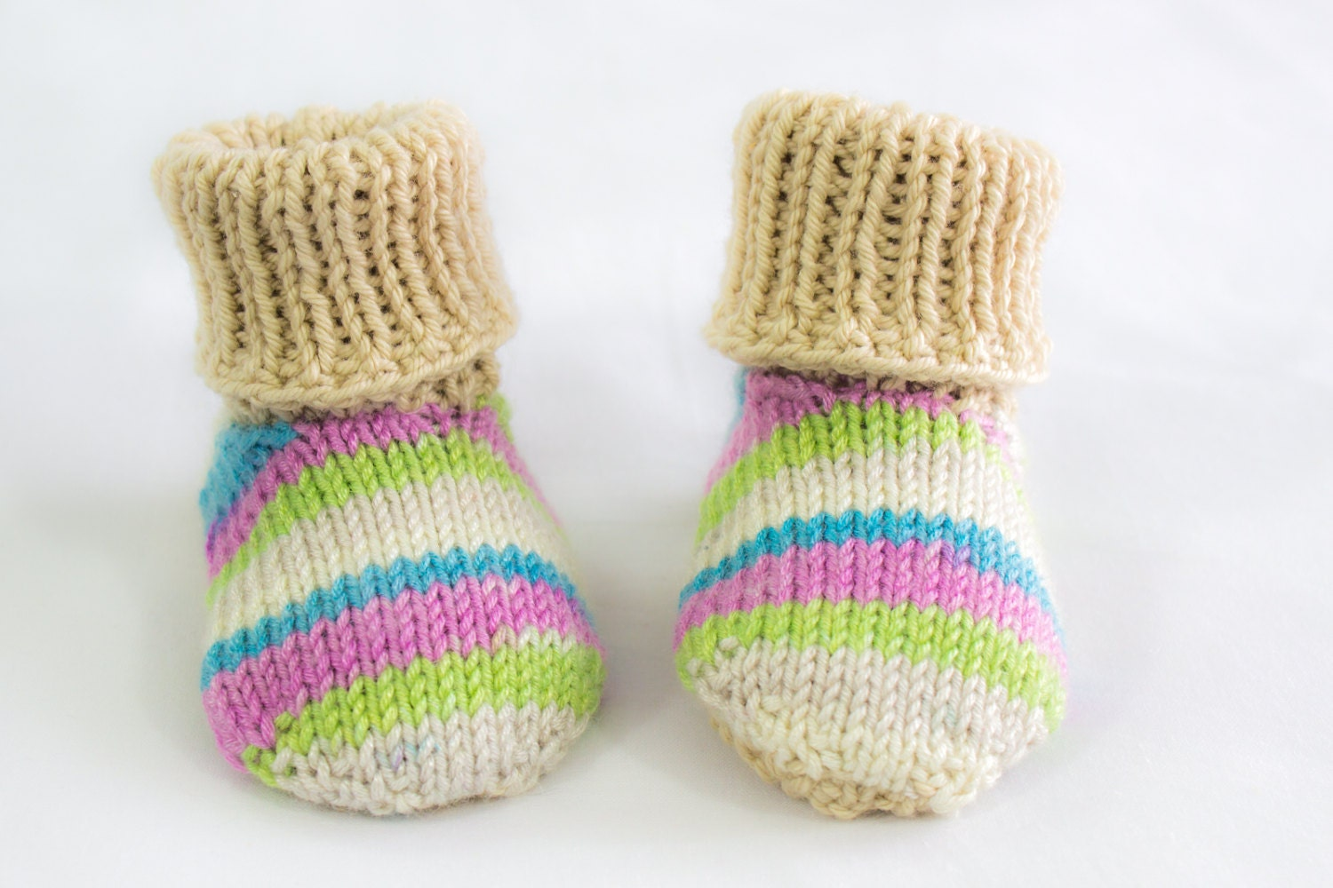 Knitted Baby Moccasins Pattern : KNITTING PATTERNToddler Baby Slippers Baby Slippers
