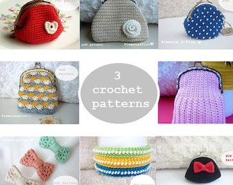 3 crochet patterns
