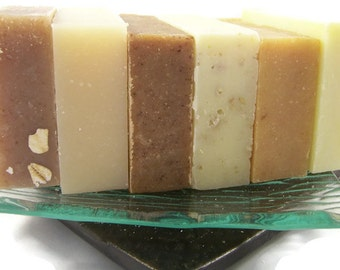 6, 12 or 25  Handmade Soap    Mix or Match   All Natural Vegan