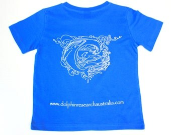 SPECIAL Born to Be Free Mens Organic Cotton Tshirt; tshirt; organic tshirt; dolphin tshirt
