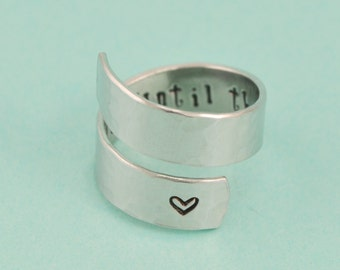 Always - Until The Very End Wrap Ring
