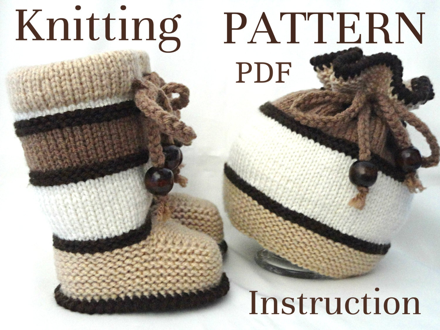 Knitting P A T T E R N Baby Set Knitting Baby Hat Kids Baby