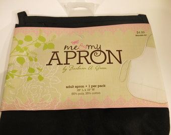 1pc black adult apron for embroidery