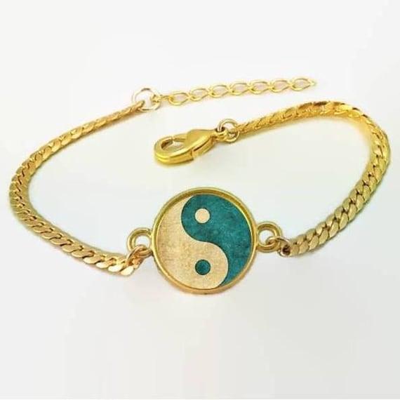 spiritual jewelry yin yang bracelet yin yang by