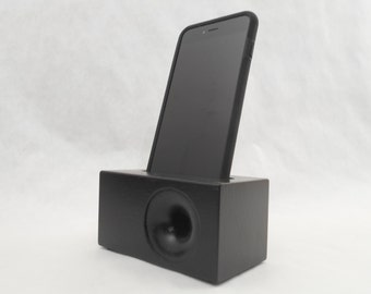 Acoustic iPhone Speaker for iPhone 6 and iPhone 6 plus, Wood iPhone Speaker, Wooden iPhone Dock, iPhone Speaker Dock
