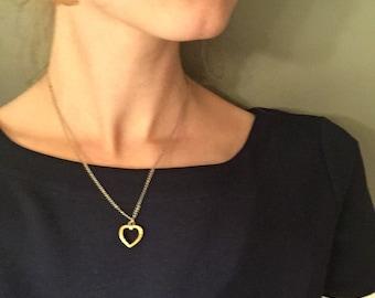 Dainty Heart Pendant | Free Shipping