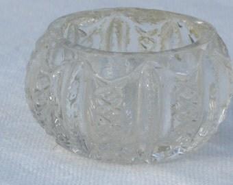Salt - Pressed Glass - Vintage