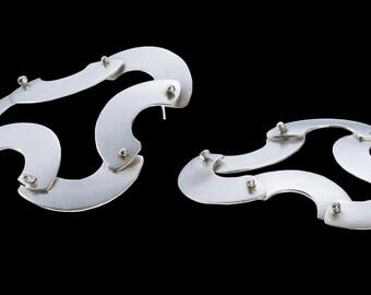 ContemporaryJewelry  -Contemporary  Earrings - Contemporary Art Jewelry - hedendaagse juwelen-Современная ювелирные изделия