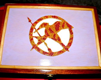 "Box jewelry box ""Sinsajo"" - the hunger games"