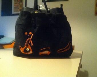 Felt Cat Bag