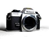 Nikon FG-20 35mm SLR Camera Body- vintage camera - Nikon F series