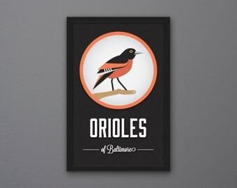 Baltimore Orioles Print