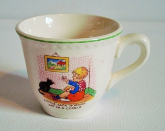 Small little jack horner cup made in England