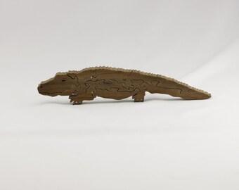 Puzzle- Alligator