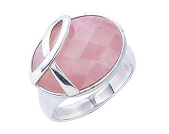 Breast Cancer Awareness Ring R10315  Size 9