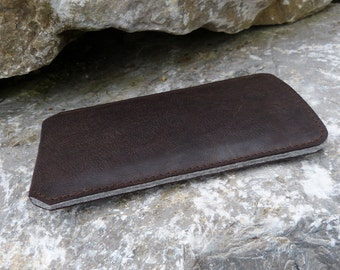 iPhone 6   6 Plus Leather Case COLOR BROWNIE