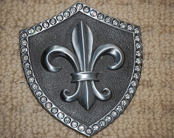 Shield Strat   Belt Buckle