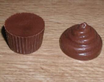 Small Cupcake 3D Chocolate Mold