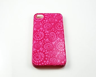 Pink Flowers iPhone 4/4s/5/5s/5c, Samsung Galaxy S4 /S5/Young Case, Nokia Lumia 521/920/925/1020 Case, HTC One M7/M8/XS Case