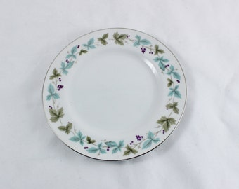 Vintage Fine China Bread Plate