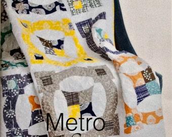 Metro Scope Quilt Pattern - Sew Kind of Wonderful - SKW 405 - QCR Pattern